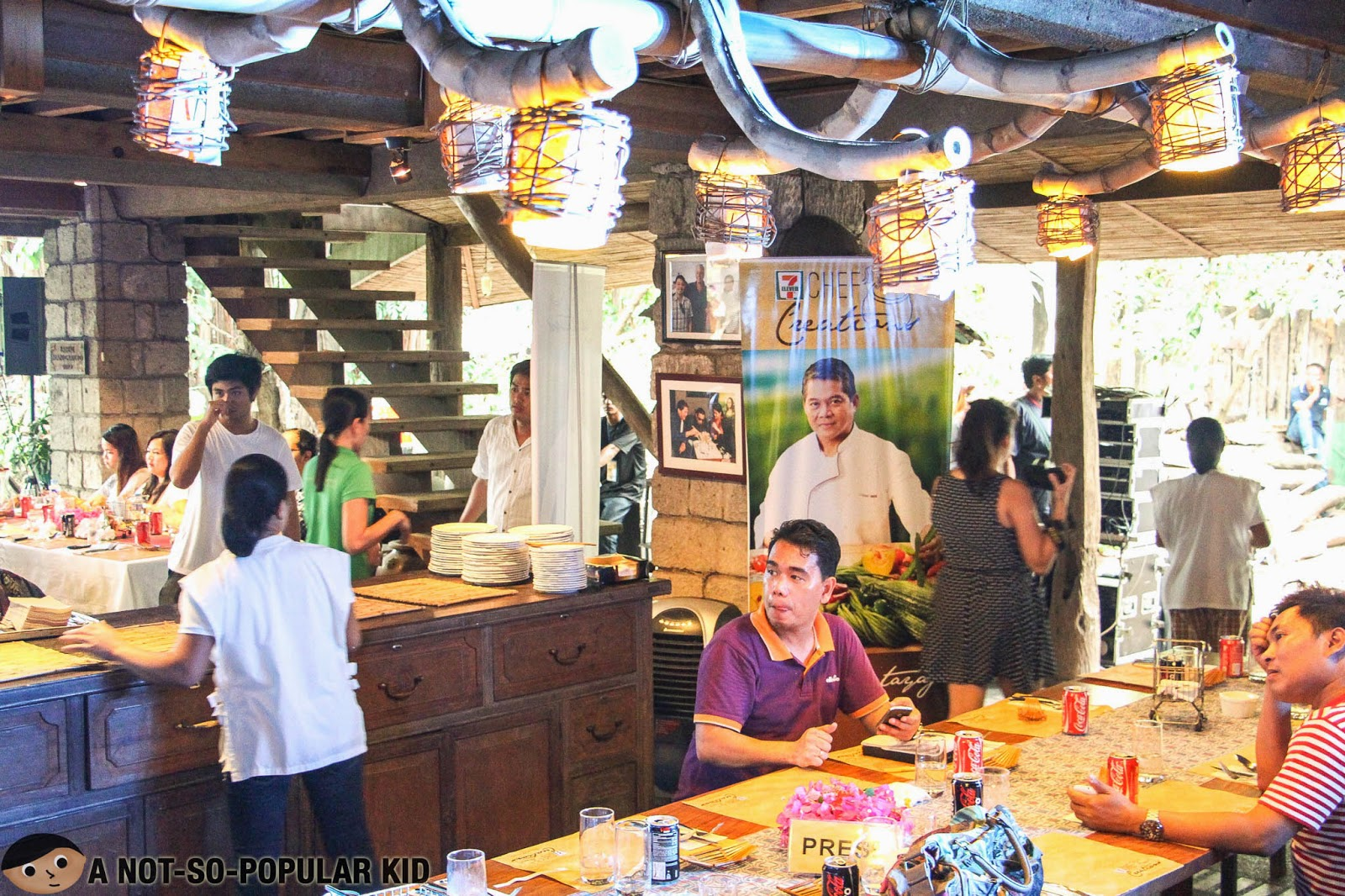 Bale Dutung (interior) in Angeles City, Pampanga