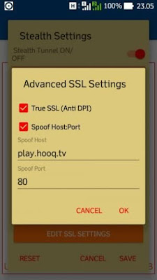 SSL Setting Anonytun