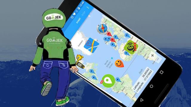 Aplikasi penguat sinyal gps gojek terbaik