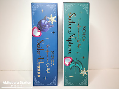 "Figuras: Review de la Proplica Transformation Lip Rod Sailor Uranus & Sailor Neptune de ""Bishoujo Senshi Sailor Moon"" - Tamashii Nations"