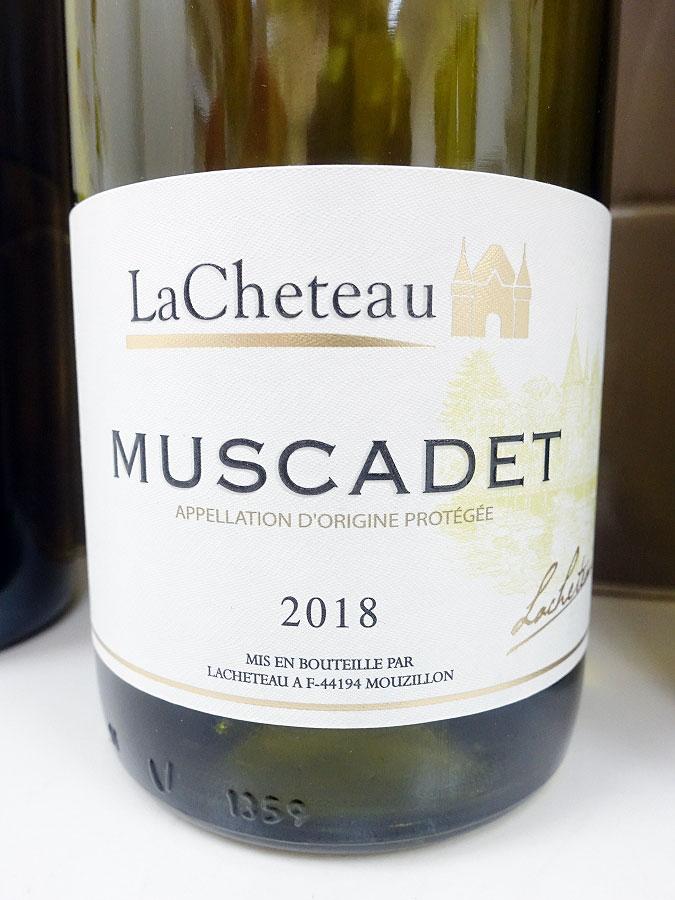 LaCheteau Muscadet 2018 (87 pts)