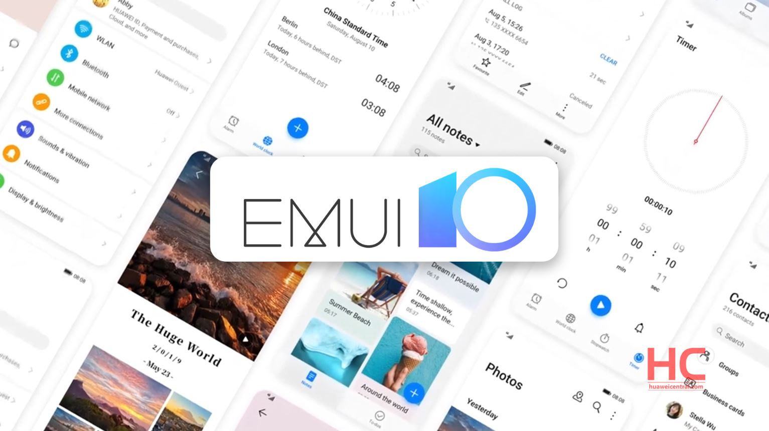 Huawei P40 will be the first to receive EMUI 10.1