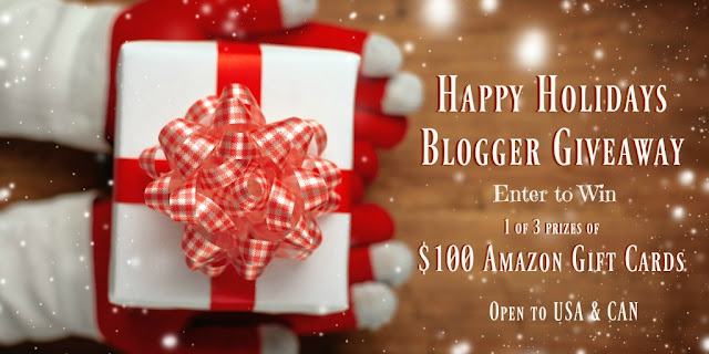 Happy Holidays, blogger giveaway, Amazon gift card