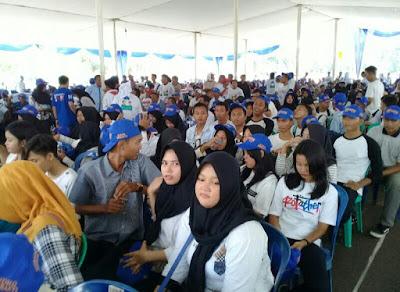 Ridho-Bachtiar Sasar Pemilih Milenial di Lampung Utara