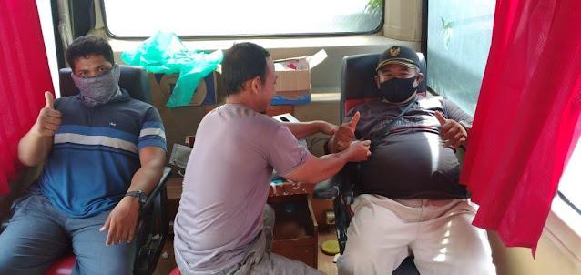 51 Warga Komplek Lalang Grand Land II Sunggal Donor Darah ke PMI Deli Serdang.lelemuku.com.jpg
