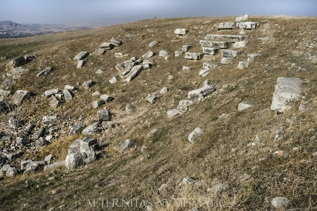 Ruinas del Bouleterion de Laodicea.