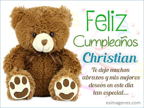 Cristian Feliz Cumpleanos Primo Wwwimagenesmycom