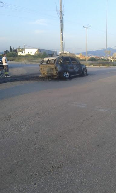 Καμένο στα Άνω Λιόσια βρέθηκε το αυτοκίνητο που διέφυγαν οι διαρρήκτες της Πεντέλης