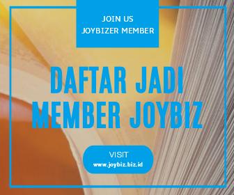 Registrasi Cara Daftar Jadi Member Joybiz