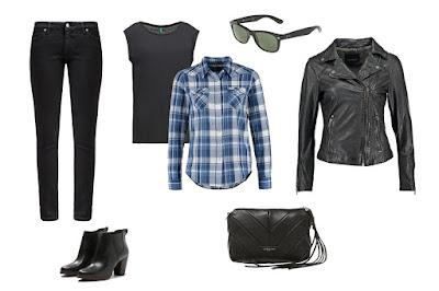 style w modzie, ubieranie się, rock, stylizacja Kameralnej
