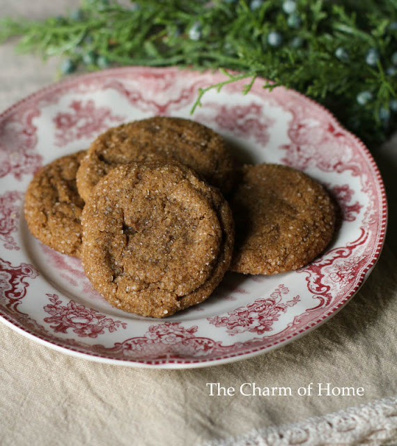 Sour Cream Gingerbread Cookies: The Charm of Home
