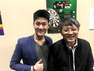 Alaric Ong with Richard Tan, Founder of Success Resources