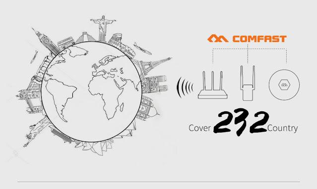 2.4Ghz 4W 802.11n/g/b Wifi Signal Booster Signal Amplifier WiFi Repeater Wireless Wifi Power Booster Long-Range