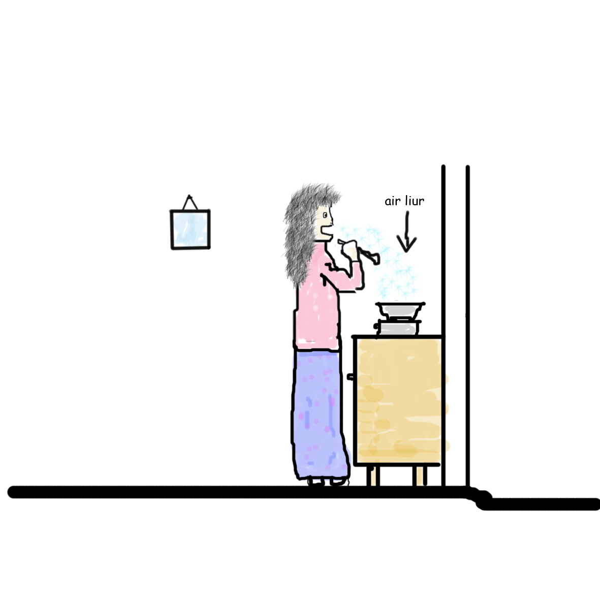 Makanan Kah Kalo Aku Tau Ish Geli Wooo Lagipun Tak Manis Di Pandang Orang Bila Menyanyi Kat Dapur Sopan Gitu Auuww