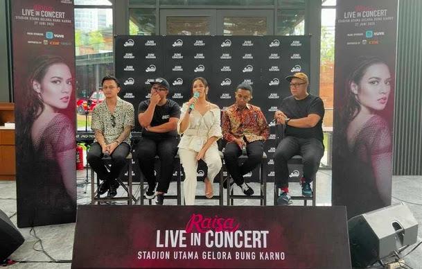 Raisa Live in Concert di Stadion Utama GBK