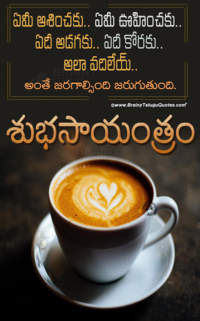 telugu qutoes, life changing words in telugu, best good evening quotes in telugu, famous good evening messges in telugu