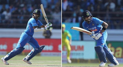 Virat Kohli and Rohit Sharma batted brilliantly