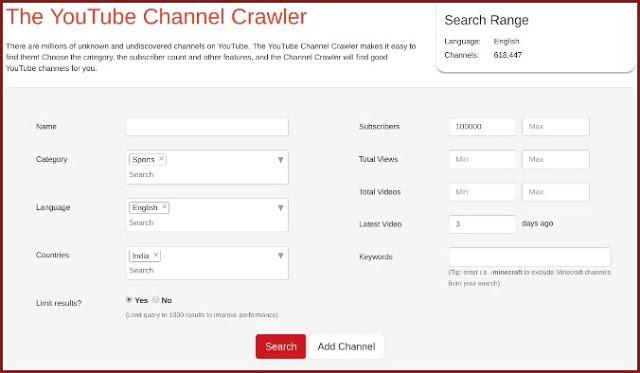 5 مواقع ويب تساعدك في العثور على أفضل قنوات اليوتوب حسب اهتماماتك