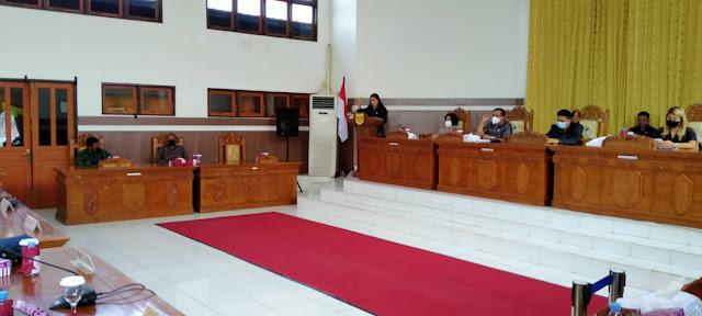 Lima Fraksi Pendukung DPRD, Terima yang Diajukan Bupati Gumas