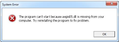 Télécharger AegisE5.dll Fichier Gratuit Installer