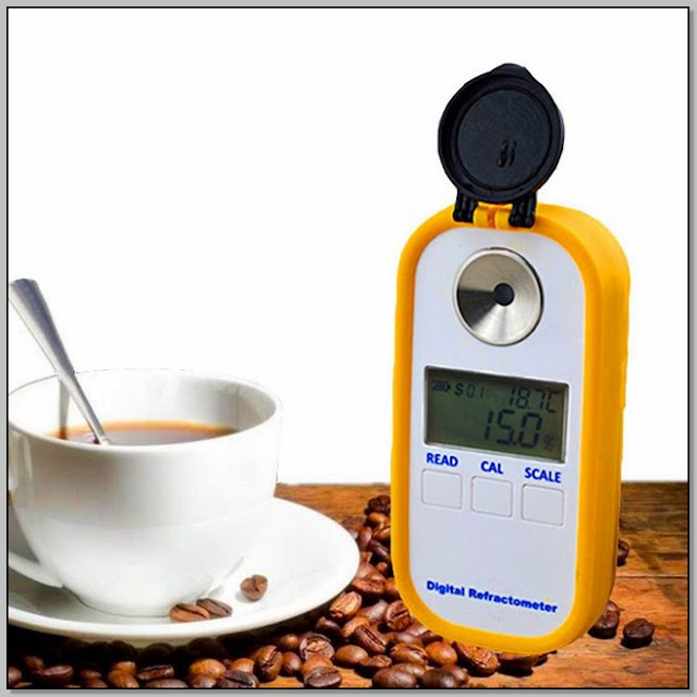 Refractometer And Coffee