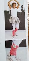 Crochet a Ballerina Costume pattern