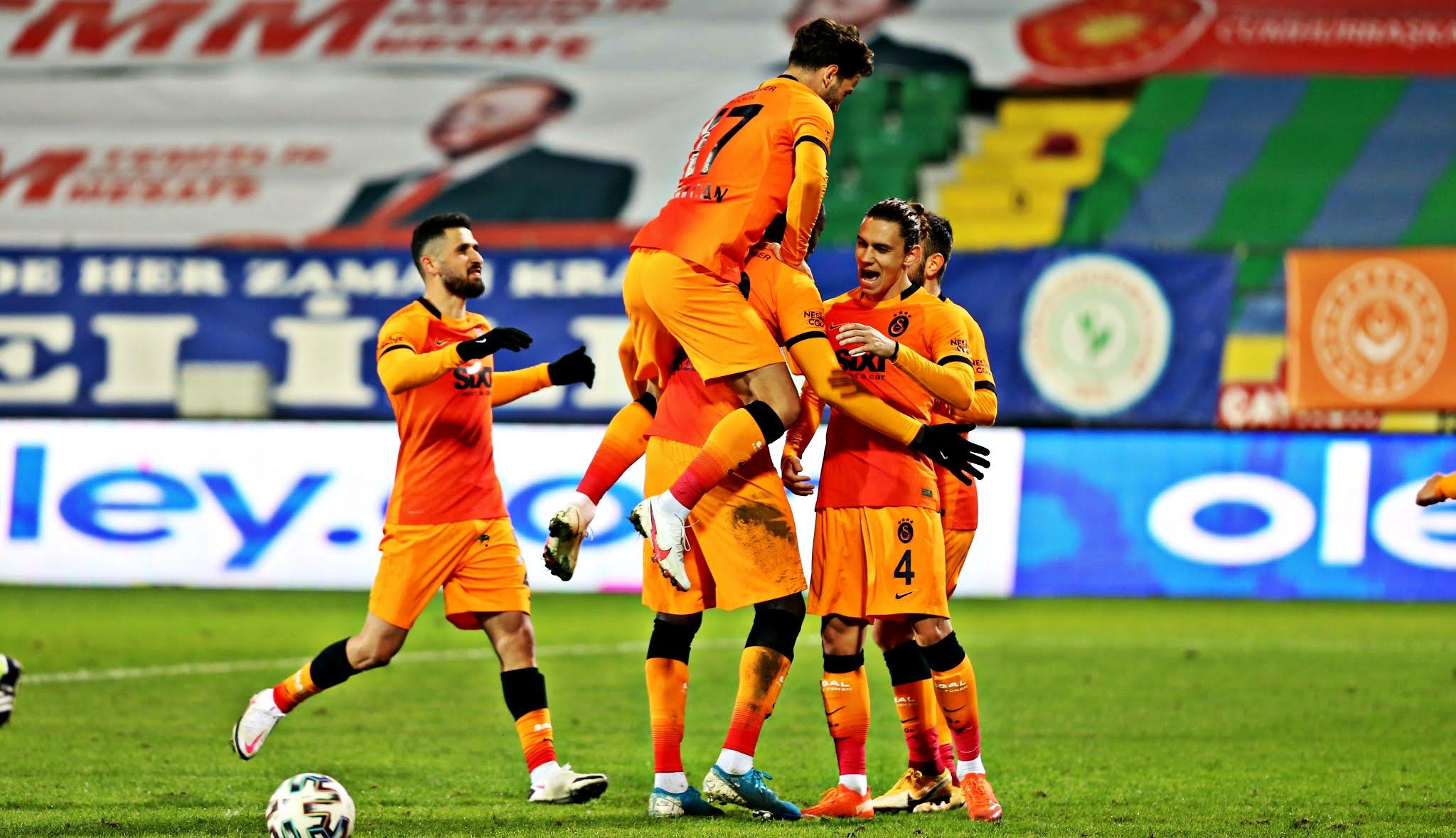 Galatasaray, 2005'ten sonra ilk kez Rize'de gol yemedi!