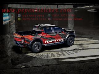 Sticker mobil Raptor grafity