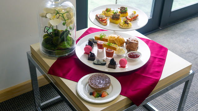 Chocology High Tea @ Axis Lounge, DoubleTree Resort by Hilton Johor Bahru