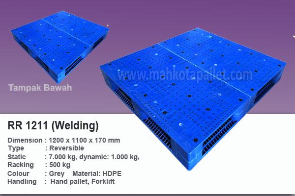 Pallet Plastik Heavy Duty RR 1211 (Welding)