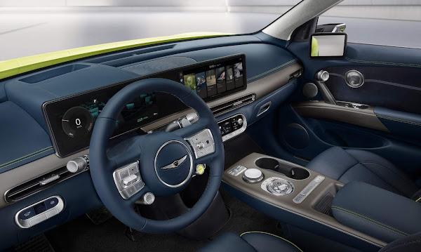 Genesis GV60 é o primeiro SUV elétrico da marca premium da Hyundai
