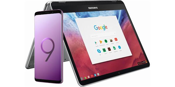 Buy the Samsung Galaxy S9 and S9+ and get a free Samsung Chromebook from Best Buy