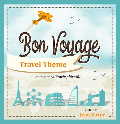 Idei pentru tematica Bon Voyage