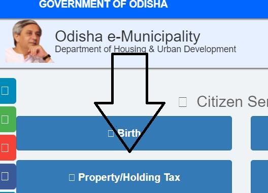 Odisha holding tax payment