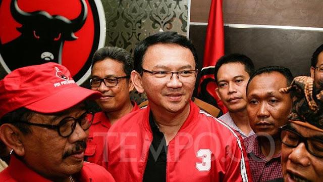 Jadi Kader PDIP, Ahok Resmi Dukung Jokowi - Ma'ruf Amin di Pilpres 2019