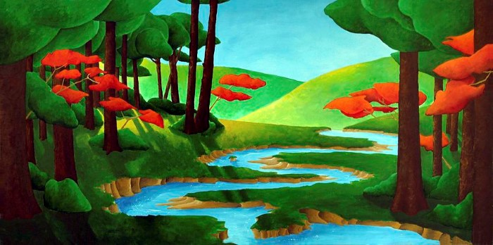 Канадский художник. Richard Hoedl