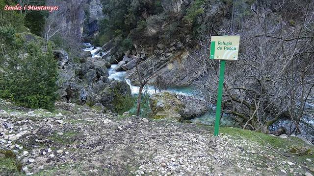 Refugio de pesca, Nacimiento río Borosa, Pontones, Sierra de Cazorla, Jaén, Andalucía