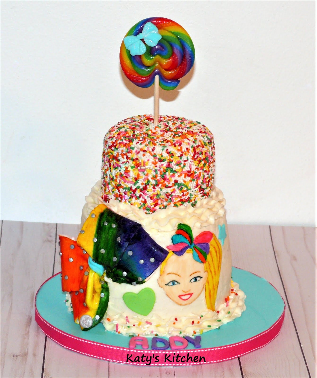 Katy S Kitchen Jojo Siwa Cake