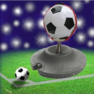 Image That Shows 3D Illustration Of Football