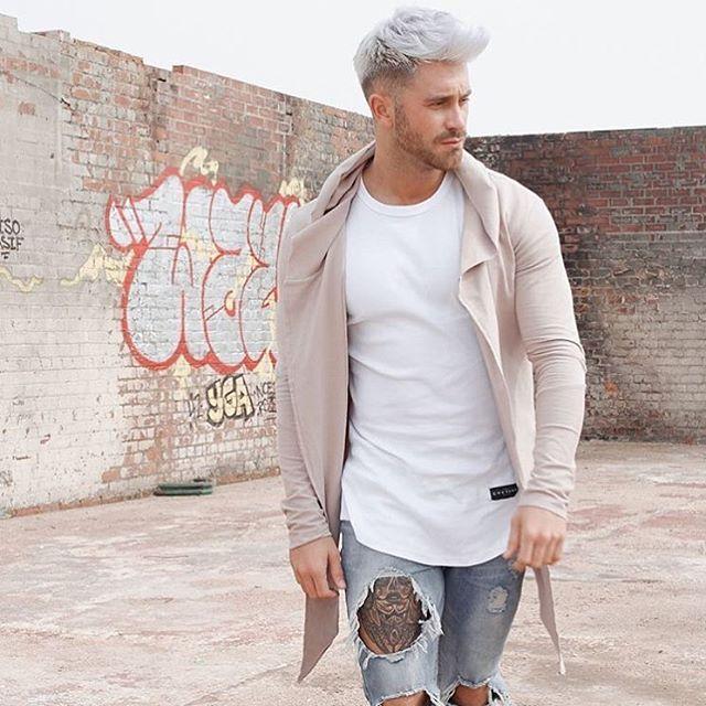 Imagenes De Mens Silver Hair Dye
