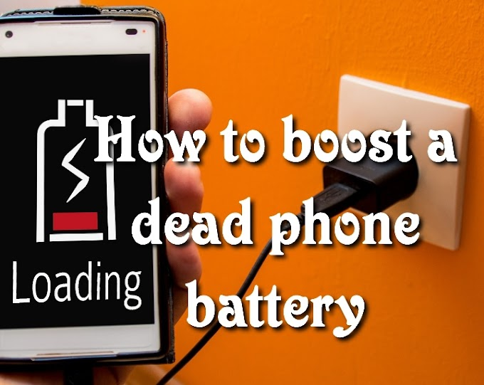 How to boost a dead phone battery