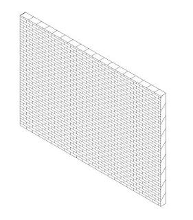 Muro opción línea oculta, Revit