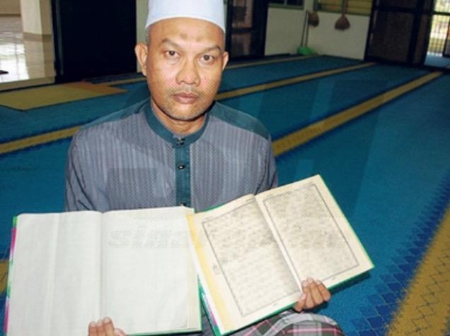 Muka Surat Al-Quran Lenyap Cetus Persoalan