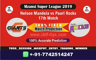 Who will win Today MSL T20 2019, 17th Match PR vs NMBG - Cricfrog