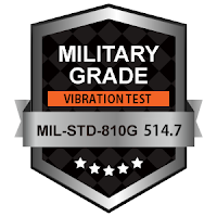 https://www.xenarc.com/Certifications.html MIL-STD-810G Vibration Resistance Tests