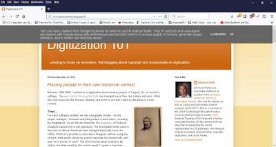 GDPR notice on Digitization 101
