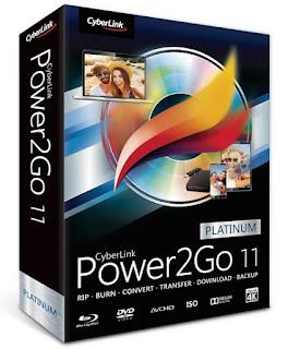 CyberLink Power2Go Platinum / Deluxe v11.0.1202 (VL)(Activado)(Español)
