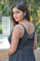 Pragya Nayan New Fresh Telugu Actress Stunning Transparent Black Deep neck Dress ~  Exclusive Galleries 012.jpg