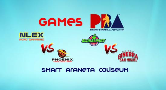 List of PBA Games: January 7 at Smart Araneta Coliseum 2017-2018 PBA Philippine Cup