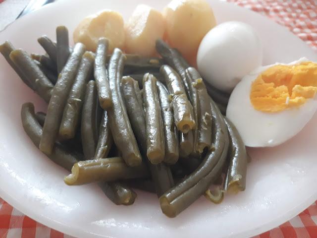 Judías Verdes Con Huevo Y Patata